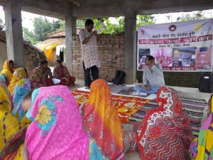 Conversation with the SEWA self help groups